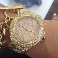 Micheal kors! OMG IM INOVE! | What time is it⌚ | Pinterest