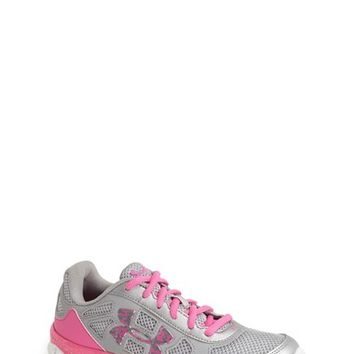 Girl's Under Armour 'Micro G Engage' Athletic Shoe