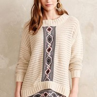 Freya Pullover by Hale Bob Neutral Motif