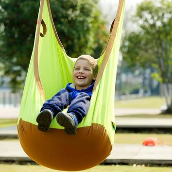 Garden Swing For Children Baby Inflatable Hammock Hanging Swing Chair Kids Indoor Outdoor Pod Swing Seat Sets SW137