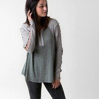 Gilded Intent Cut-Out Top