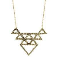 House of Harlow 1960 Jewelry Tessellation Necklace