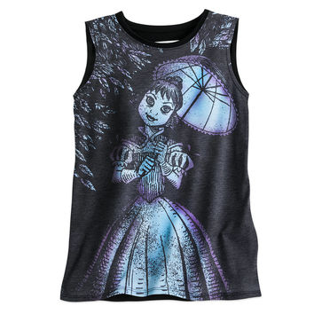 The Haunted Mansion Stretch Painting Aerialist Tank Tee for Women by Disney Boutique