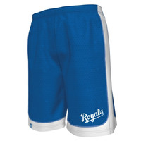 Majestic Kansas City Royals Fiery Fastball Short - Royal Blue