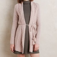 Sleeping on Snow Belted Cashmere Cardigan
