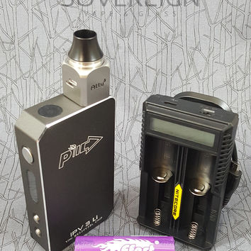 IPV3 Li, Atty3 RDA, Nitecore UM20 Charger and Batteries Full Kit