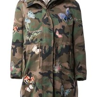Valentino 'camubutterfly' Oversized Parka - L'eclaireur - Farfetch.com