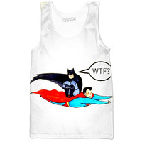 Batman superman tank top