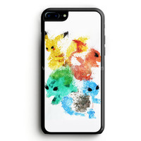 Pikachu Painting Pokemon iPhone 7 Plus Case | aneend