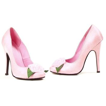 Ellie Shoes E-511-Bloom 5 Pump with Flower