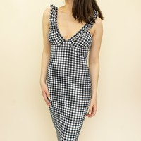 Corinna Gingham Dress