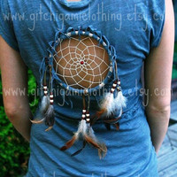 CUSTOM Dreamcatcher Native Spirit Festival Peek-a-Boo Top