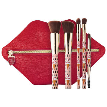 Sephora: SEPHORA COLLECTION : Berry Kissable Brush Set : brush-sets-makeup-brushes-applicators-makeup