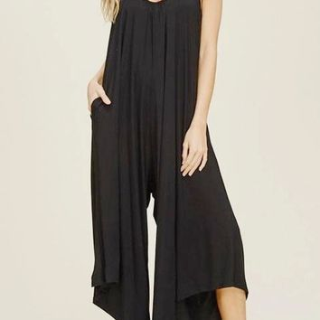 Renee Curve Wide Leg Jumpsuit