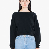 California Fleece Cropped Sweatshirt | American Apparel