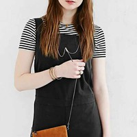 Silence + Noise Leather Wristlet