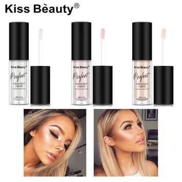 2018 New Illuminator Contouring Makeup Highlighter Face Brightener Concealer Liquid Primer Bronzer Face Glow Kit Cosmetics