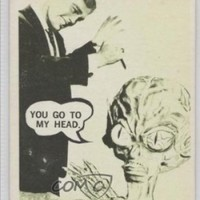 You go to my head. (Trading Card) 1967 Topps Terror Tales/Movie Monsters #21