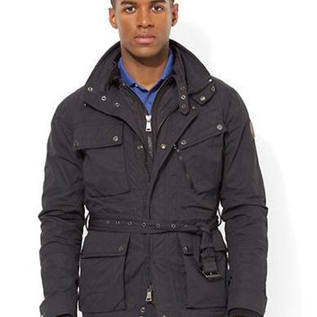 Polo Ralph Lauren RLX Wax Coated Utility Jacket