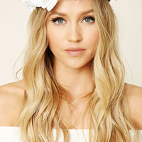 Rose Flower Crown Headwrap