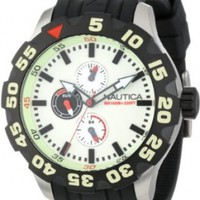 Nautica Men's N16509G BFD 100 Multifunction Luminous Dial Watch