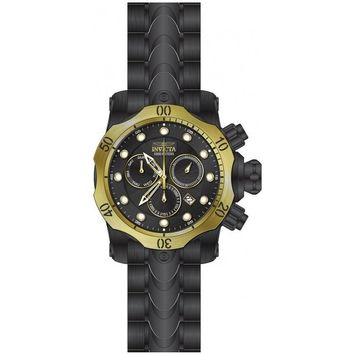 Invicta Men's 23895 Venom Quartz Chronograph Black Dial Watch