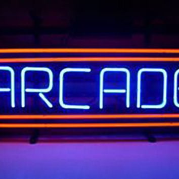 Arcade Billards Pool Game Neon Sign Real Neon Light