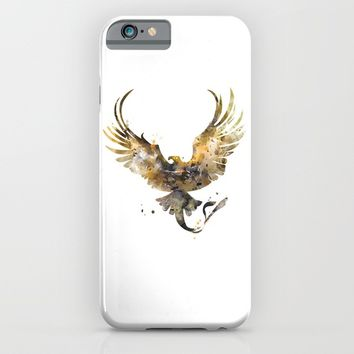 Thunderbird iPhone & iPod Case by artsaren