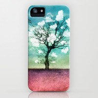 ATMOSPHERIC TREE | Pick me a cloud III iPhone & iPod Case by 📷 VIAINA