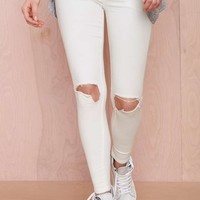 UNIF Push Distressed Jeans