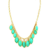Pree Brulee - Turquoise Bauble Necklace