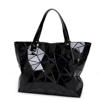 Fashion Diamond Summer bag large Quilted ladies Handbag bag female Geometric tote Laser woman shoulder bags designers brand