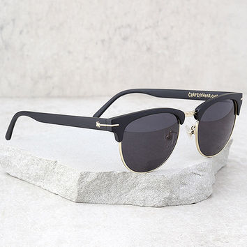 Crap Eyewear The Nudie Club Black Sunglasses