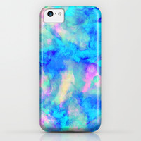 Electrify Ice Blue iPhone & iPod Case by Amy Sia