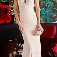 Keyhole Embellished Jersey Prom Dresses by Jovani Exclusive Collection for eDressMe
