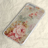 Retro Floral Flower iPhone 6 Plus Case