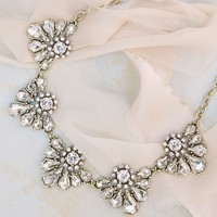 Aubrey Crystal Statement Necklace