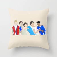 One Direction Throw Pillow by Natasha Ramon | Society6