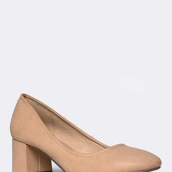 Lino Low Heel Pump