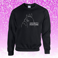 Studio Ghibli Totoro Sweater Sweatshirt Unisex Adults