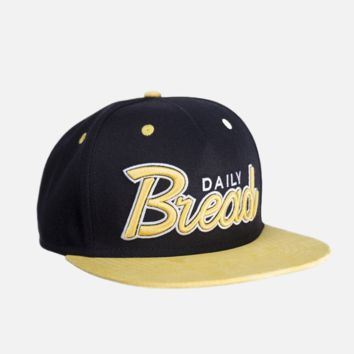 Bread and Yellow Suede Snapback