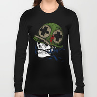 Soldier Long Sleeve T-shirt by Knm Designs