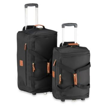Bric's Xtravel Rolling Duffel Bag Collection in Black