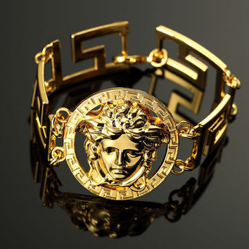 GREEK CUBAN BRACELET