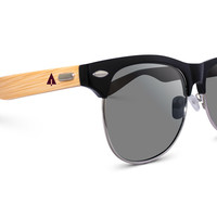 Wooden Sunglasses // Clubmaster 71