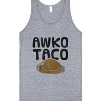 Athletic Grey Tank | Funny Taco Shirts