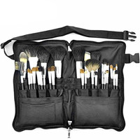 Joly Premium Goat Hair Brush Set 32 Pcs with Makeup Apron Waist Style Bag
