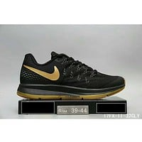 NIKE AIR ZOOM PEGASUS 33 landing shoes F-HAOXIE-ADXJ Black