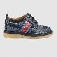 Gucci Toddler leather Brogue Shoe
