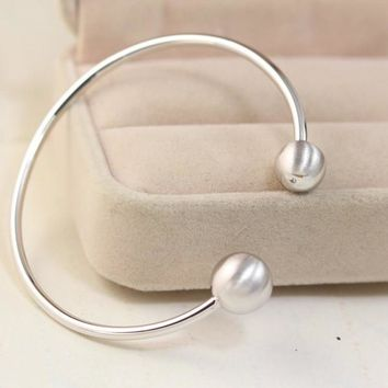 Shiny Stylish New Arrival Jewelry Accessory Korean Simple Design Casual Bangle [6513476679]